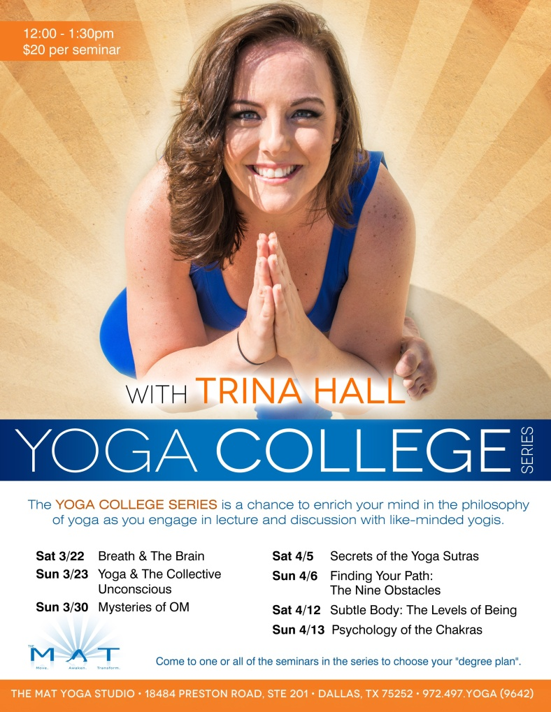 Yoga college trina hall treenuh yoga